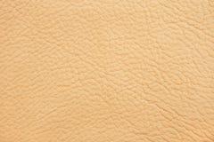 cuir de beige de fond Image libre de droits