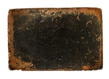 cuir de cache de livre avec les bords usés approximatifs images stock