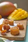Cuir de fruit de mangue Photographie stock