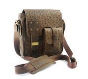 cuir de sac Image stock