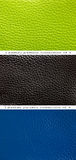 Cuir de vert de configuration, bleu et noir Photos libres de droits