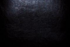 Cuir noir. Image libre de droits