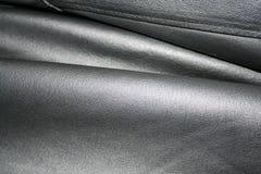 Cuir noir Image stock