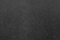 Cuir noir abstrait de couleur Images stock