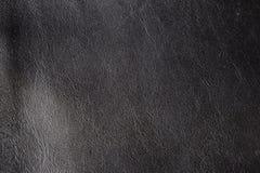 Cuir noir normal Photographie stock