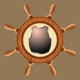 Cuirass do pirata do ícone Imagens de Stock