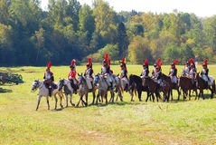 Cuirassiers. Royalty Free Stock Image