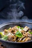 cuire le ragoût à la vapeur photo libre de droits
