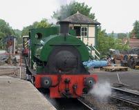 Cuisez le train à la vapeur Photo stock