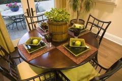 Cuisine à la maison de luxe. images libres de droits