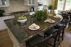 Cuisine à la maison de luxe Image libre de droits