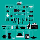 Cuisine illustration de vecteur