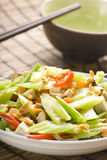 Cuisine. Chinese Cuisine On Close-up Stock Photo