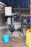 Cuisine africaine typique Photographie stock libre de droits