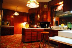 Cuisine chez Graceland photographie stock libre de droits