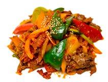 Cuisine coréenne Photographie stock libre de droits