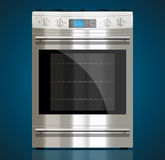 Cuisine - cuisinière à gaz Photographie stock