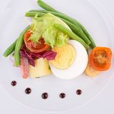 Cuisine culinary, salad Royalty Free Stock Photo