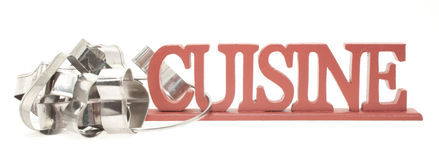 Cuisine and Cutter Stock Photography