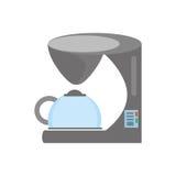 cuisine d'appareils de machine de café Photos libres de droits