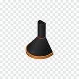 Cuisine d'isolement Hood Isometric L'élément de vecteur d'extracteur d'air peut être employé pour la cuisine, capot, concept de c Image stock