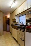 Cuisine de caravane résidentielle Image stock