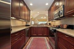 cuisine de condominium Images libres de droits