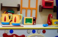 Cuisine de jouet pour enfants Photos libres de droits