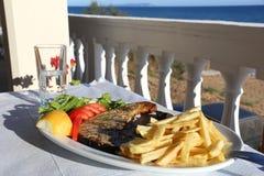 Cuisine de la Grèce Photos libres de droits