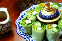Cuisine de la Thaïlande Images libres de droits