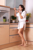Cuisine de ménagère Photo stock