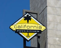 Cuisine de pizza de la Californie Photo stock