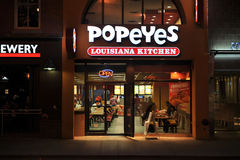 Cuisine de Popeyeâs Louisiane Images libres de droits
