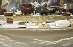 Cuisine de restaurant Photo libre de droits