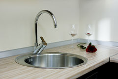cuisine de robinet Photographie stock