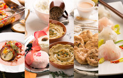 Cuisine of different countries Royalty Free Stock Photo