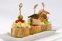 Cuisine espagnole tapas plateau des montaditos image - Cuisine espagnole tapas ...