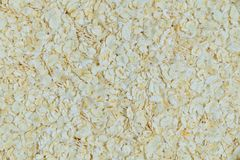 Rolled Oat or Oat Flakes Textured Background. Cuisine and Food, Close Up of Uncooked Rolled Oat or Oat Flakes Textured Background. Nutrient Rich Food with Lower Royalty Free Stock Photos