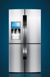 Cuisine - glacière, réfrigérateur, réfrigérateur Images libres de droits