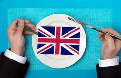 Cuisine of Great Britain Stock Photo
