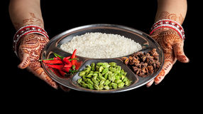Cuisine indienne Photo stock