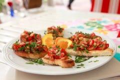 Cuisine italienne Photos stock