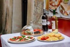 Cuisine italienne Photos libres de droits