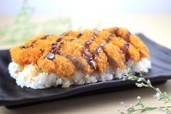 Cuisine japonaise Photographie stock libre de droits