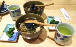 Cuisine japonaise Chazuke Congree Photo stock