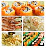 Cuisine japonaise préférée Photos stock
