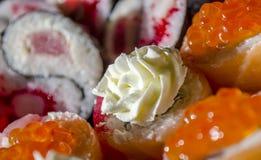 Cuisine japonaise - sushi Photo stock