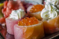 Cuisine japonaise - sushi Image libre de droits