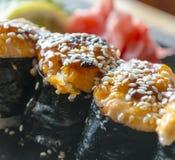 Cuisine japonaise - sushi Images libres de droits