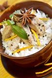 Cuisine japonaise traditionnelle Images libres de droits